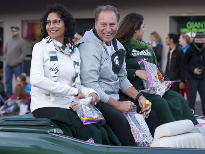 Lupe Marinez Izzo and Tom Izzo