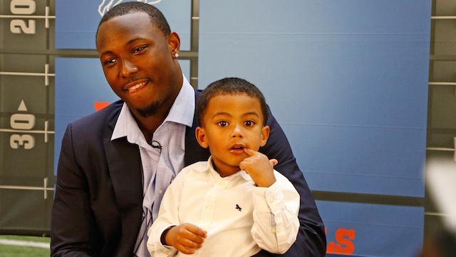 LeSean McCoy's son