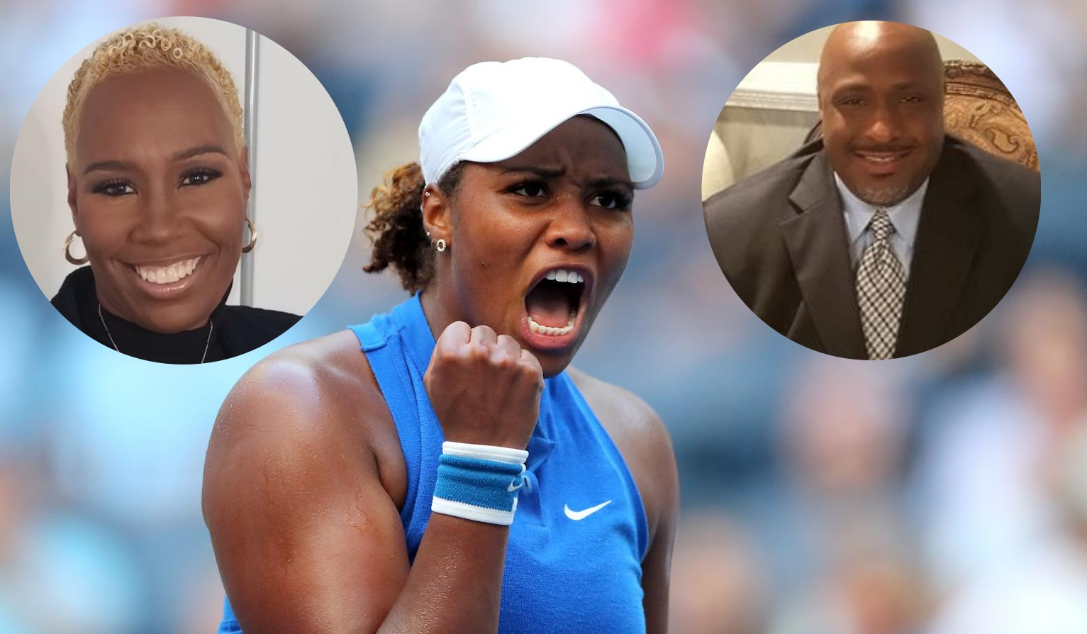 Taylor Townsend's parents