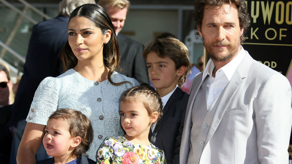 Matthew McConaughey and his wife: Camila Alves
