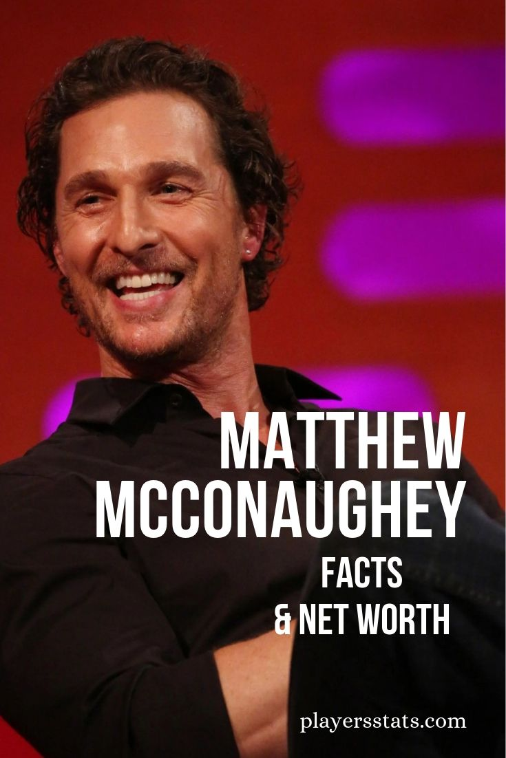 Matthew McConaughey's net worth, salary, earning, family, wife