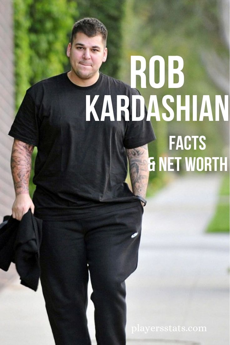 Rob Kardashian's net worth: Siblings, Daughter, Wife, Death, Dad