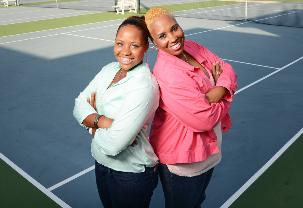 Taylor Townsend's mother